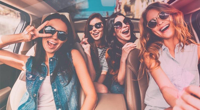 consejos de salud y belleza chicas en coche