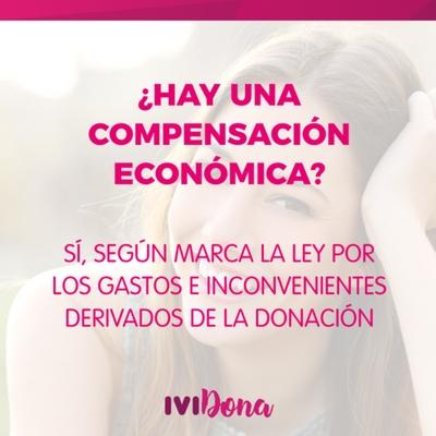 compensación económica donar ovulos