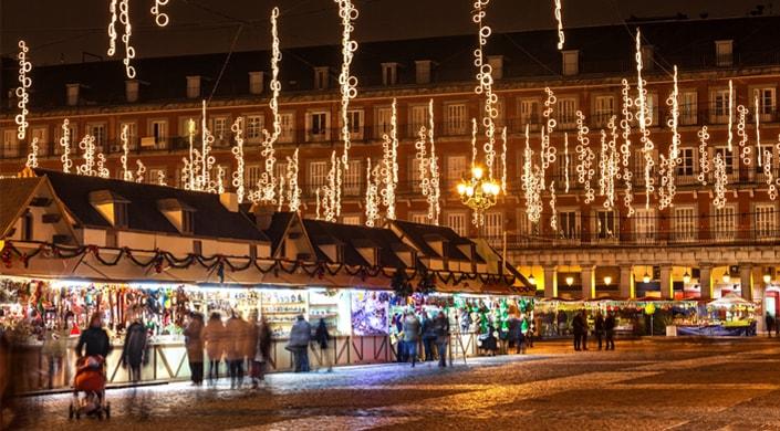Navidades en madrid descubre los mejores planes - Mercado de navidad en madrid ...