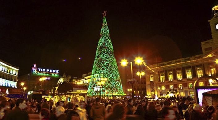 navidades en madrid- arbol
