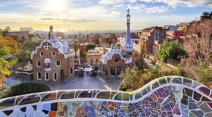 finde en barcelona - parc guell