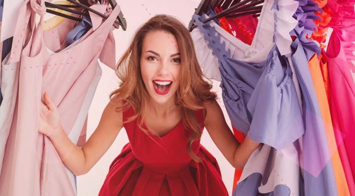 los vestidos low cost para Nochevieja